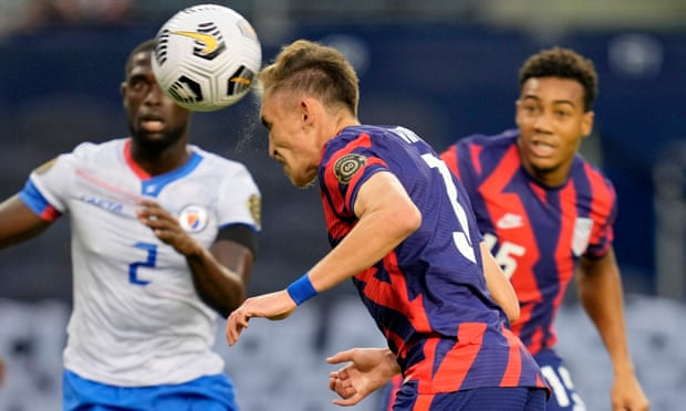 Sam Vines's header lifts USA to win over Haiti in Concacaf Gold Cup opener