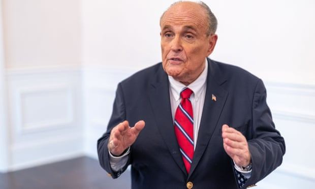Drunken Giuliani urged Trump to 'just say we won' on election night, book says