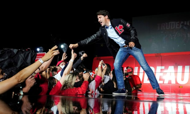 Trudeau energized by anti-vaccine protests in Canada election few wanted